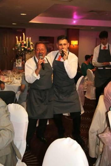 the best Singing Waiters duo in the UK